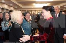 Presidenta del Parlamento de Vietnam dialoga con coterráneos en Corea del Sur