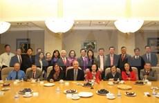 Delegación del Partido Comunista de Vietnam visita ciudad estadounidense de Houston