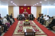 Delegación del Ministerio de Religión y Culto de Camboya visita provincia de Binh Duong