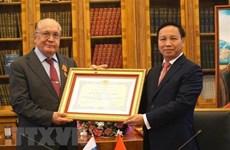 Vietnam otorga Orden de Amistad a Universidad estatal de Rusia