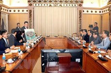 Ciudad Ho Chi Minh y grupo sudcoreano Lotte cooperan en desarrollo de infraestructura