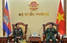 Vietnam y Camboya robustecen cooperación en defensa