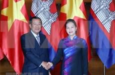 Vietnam y Camboya fomentan sus relaciones de solidaridad y cooperación