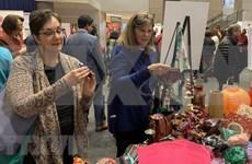 Productos artesanales de Vietnam presentados en feria internacional en Milán