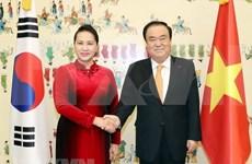 Presidenta parlamentaria concluye su visita oficial a Corea del Sur