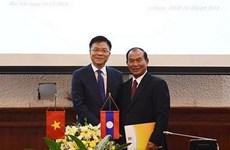 Vietnam y Laos impulsan la cooperación judicial