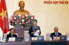 Inauguran reunión 29 del Comité Permanente del Parlamento vietnamita