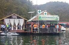 Tailandia debuta con su primera clínica flotante para hacer frente a accidentes