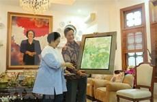 Líder partidista de Indonesia propone fomento de nexos con Vietnam