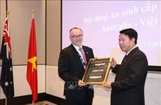 Australia y Vietnam efectúan primer diálogo de seguridad a nivel de viceministros