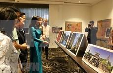 Pinturas lacadas de Vietnam llegan a Australia