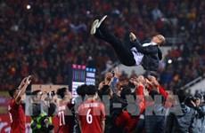 Presidente de Corea del Sur felicita el triunfo de Vietnam en AFF Suzuki Cup