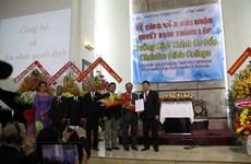 Inauguran primer curso de Escuela Bíblica Cristalina en Vietnam