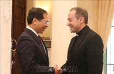 Efectúan en Hanoi séptima reunión del Grupo de Trabajo Conjunto Vietnam- El Vaticano