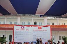 Ayuda de Vietnam a Laos en desarrollo de recursos humanos