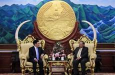 Vietnam y Laos buscan intensificar relaciones en todas las esferas