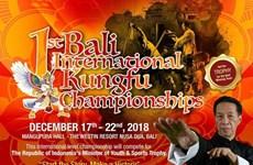 Celebran en Indonesia primera edición de Campeonato Internacional de Kungfu