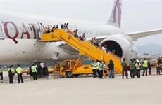 Qatar Airways realiza primer vuelo a la ciudad vietnamita de Da Nang