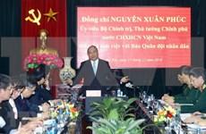 Premier de Vietnam resalta contribución del periódico Ejército Popular a lucha contra corrupción
