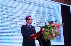 Conmemoran en Laos aniversario del Ejército Popular de Vietnam