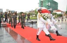 Conmemoran en Camboya fundación de Ejército Popular de Vietnam