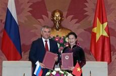 Vietnam y Rusia establecen comité de cooperación interparlamentaria bilateral