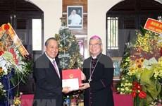 Vicepremier de Vietnam felicita a parroquianos de Da Nang por Navidad