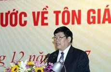 Protestantes vietnamitas unen esfuerzos por el desarrollo nacional