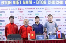 Selección de fútbol de Vietnam se prepara para Copa Asiática 2019