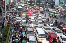 Ciudad Ho Chi Minh propone soluciones para la congestión de tráfico en 2019