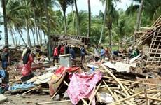 Afectados de tsunami en Indonesia reestabilizan la vida