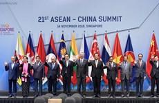 China y ASEAN entran a una nueva era de asociación estratégica
