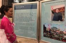 Exposición fotográfica en Hanoi resalta relaciones Vietnam- Corea del Norte