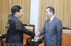 Vicepremier y canciller de Vietnam aboga por mantener intercambio de delegaciones con China