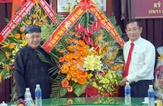 Felicitan aniversario 99 de natalicio del fundador de secta budista vietnamita Hoa Hao