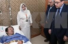 Premier egipcio visita a vietnamitas heridos por explosión de autobús en Giza
