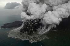 Volcán Anak Krakatoa pierde dos tercios de altura debido a tsunami mortal