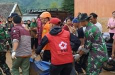 Al menos dos muertos por deslave de tierra en Indonesia