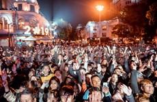 Celebran el Año Nuevo 2019 en ciudades vietnamitas