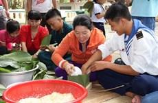 Pobladores de Truong Sa se preparan para la fiesta de Año Nuevo Lunar