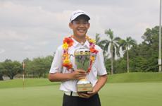 Niño vietnamita de 13 años figura en el Ranking Mundial de Golf Aficionado
