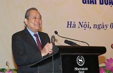 Desarrollo en áreas de minorías étnicas es tarea principal para fomentar la gran unidad, destaca vicepremier vietnamita