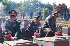 Funcionarios camboyanos homenajean a soldados vietnamitas caídos en lucha contra régimen de Pol Pot