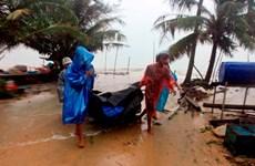 Tormenta tropical Pabuk golpea la costa del Sureste de Tailandia