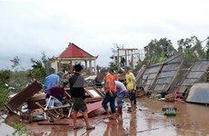 Huracán Pabuk provoca un muerto en Vietnam