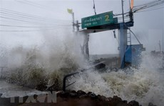Al menos cinco muertos por tormenta tropical Pabuk en Tailandia
