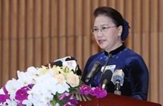 Presidenta de Asamblea Nacional de Vietnam insta a mejorar labores legislativas de Oficina parlamentaria