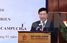 Celebran conferencia de cooperación entre localidades fronterizas de Vietnam y Camboya