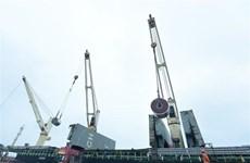 Corporación vietnamita exporta primer lote de chapa de acero a Estados Unidos