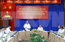 Premier vietnamita insta a provincia de Bac Lieu a priorizar proyectos de energía limpia